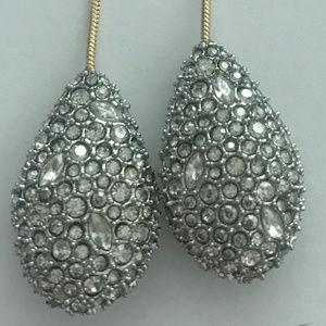 Alexis Bittar Jewelry - NEW Alexis Bittar Crystal Pavé Teadrop Earrings
